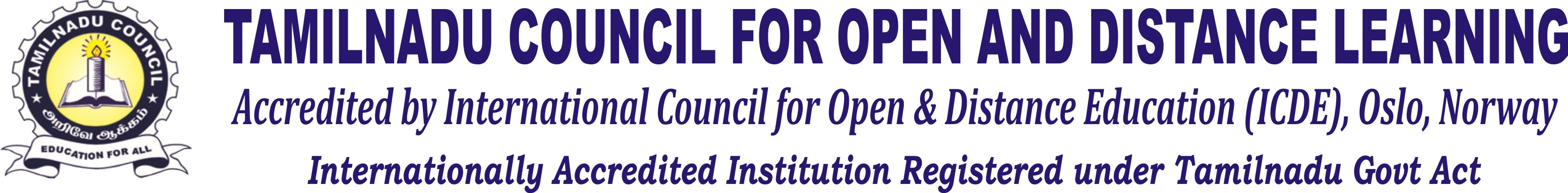 Tamilnadu Council – Open & Distance Learning-Open & Distance Learning